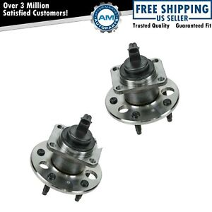 Rear Wheel Hub Bearing W Abs Pair For Buick Pontiac Cadillac Oldsmobile