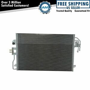 Ac Condenser A c Air Conditioning With Transmission Cooler For Ford Mazda New