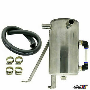 Stainless Steel Oil Catch Can Tank Fit Hilux Vigo 2 5ltr 2kd Turbo Diesel