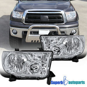 For 2007 2013 Toyota Tundra Sequoia Replacement Headlights Light right