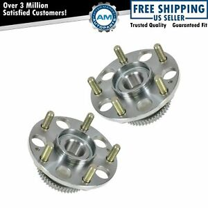 Rear Wheel Hub Bearing Left Right Pair For Honda Accord Acura Tl 5 Lug