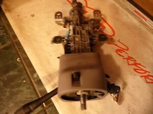 2004 Mustang Gt Steering Column With Key And Bezel