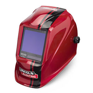Lincoln Viking 3350 Code Red Welding Helmet K4034 3