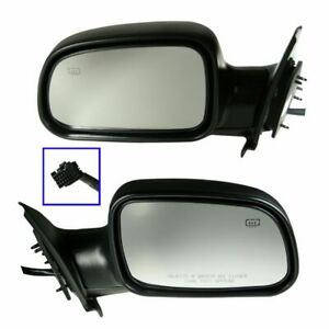 Power Heated Side View Mirrors Folding Pair Set For 99 04 Grand Cherokee