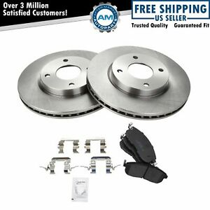 Front Premium Posi Ceramic Brake Pads Rotors Kit For Nissan New