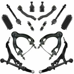 For 92 95 Civic 94 Integra Control Arm Ball Joint 14pc Steering Suspension Kit