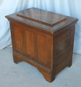 Antique Wood Ice Chest Or Box A Kalamazoo Direct To You Only 27 Inches Heigh