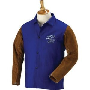 Revco 9 Oz Fr And Cowhide Welding Jacket Coat 30 Frb9 30c