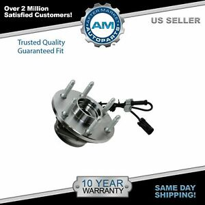 4x4 6 Lug Front Wheel Bearing Hub Assembly Gmc Sierra Chevy Silverado 1500