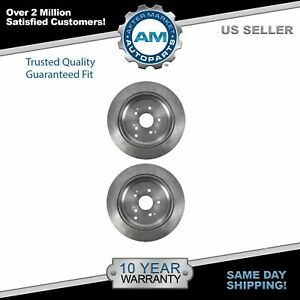 Nakamoto Rear Disc Brake Rotor 5 Lug Pair Set Of 2 For 02 04 Honda Odyssey