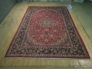 Rug 10 X 14 Once Owned Persian Tabriz Rich Floral Hand Knotted