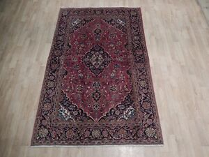 Rug 4 X 7 Time Honored Persian Kashan High Qulity Handmade