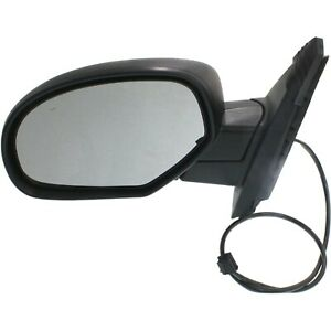 Power Mirror For 2007 2013 Chevrolet Silverado 1500 Left Manual Folding Heated