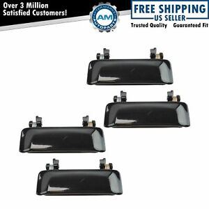 Metal Outer Outside Exterior Door Handle Kit Set Of 4 For Explorer Mountaineer