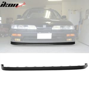 Fits 90 91 Acura Integra Jdp Style Poly Urethane Front Bumper Lip Spoiler Pu