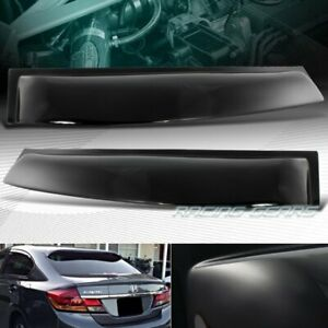 Rear roof spoiler oem new and used auto parts for all for 2000 honda civic rear window visor