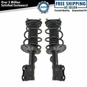Complete Loaded Strut Spring Assembly Front Pair 2pc Set For 10 13 Prius New