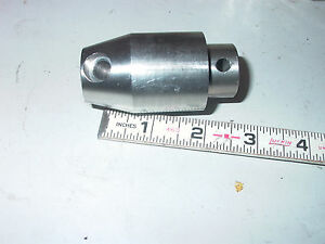 Stainless Steel Pin In Threaded Machine Control Knob For Handle 3 8 24 Threads