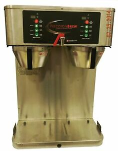 Grindmaster Pbvsa 430 Dual Precision Airpot Coffee Brewer Maker Machine W Faucet