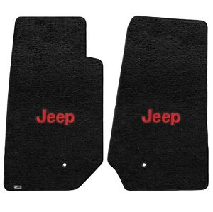 Lloyd Mats Ultimat 2 Piece Front Floor Mat Set Black 2007 2013 Jeep Wrangler
