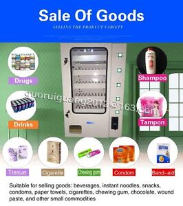 Candy Vending Machine paper Dispenser Machine With Coin Acceptor 5 Lines Product