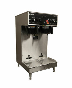 Bunn Dual Soft Heat Automatic 1 5 Gallon Satellite Coffee Brewer Maker W Faucet