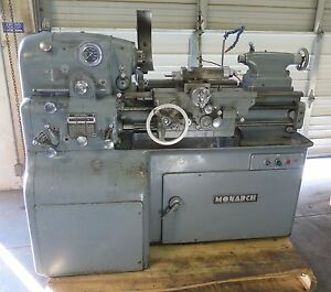 Monarch 10ee Precision Tool Room Engine Lathe 12 1 2 X 20 W Taper Attachment