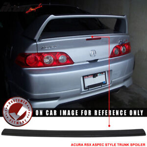 Fits 02 06 Acura Rsx Unpainted Aspec Style Trunk Spoiler Deck Lid Abs
