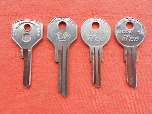4 Studebaker Key Blanks 1940 1963