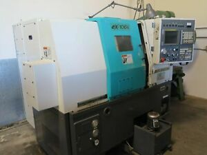 2001 Takisawa Model Ex 106k Cnc Gang Style Turning Center Lathe Fanuc 21i t