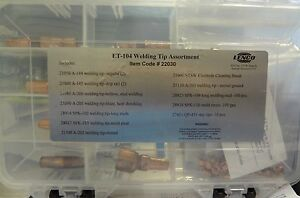 Lenco 22030 Et 104 Spot Welder Tip Kit