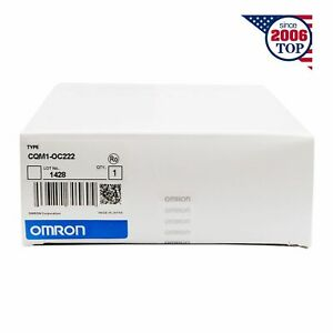 New Sealed Omron Cqm1 oc222 Module 6 Months Warranty
