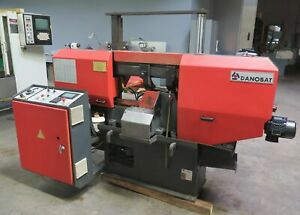 Danobat Model Cr 260 Af Horizontal Band Saw Dual Column Metal Cutting Nice