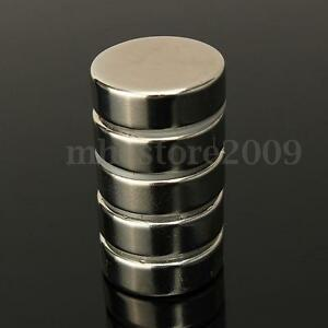 5 20x Big Strong N52 Neodymium Ndfeb Magnet Rare Earth Round Disc Fridge 30x10mm