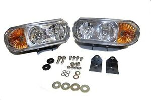 Hamsar 81091 2 Snow Plow Lights Dual Halogen 12vdc Light Kit