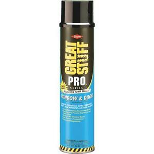 3 great Stuff Pro 20 Oz Yellow Color Insulating Window Door Foam Sealant 197711