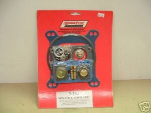 Holley 600 Thru 850 Double Pumper Carb Rebuild Kit Chevy Ford Mopar Drag Race