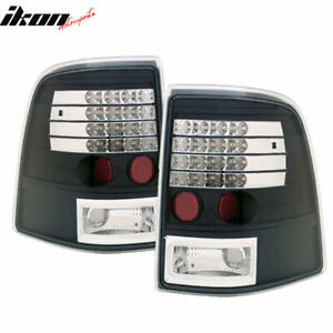 Fits 02 05 Ford Explorer Mercury Mountaineer Led Tail Lights Black