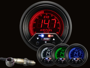 Prosport Universal 52mm Premium Evo Electrical Wideband A F Air Fuel Ratio Gauge