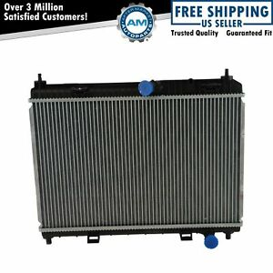 Radiator Assembly Plastic Tank With Aluminum Core For Ford Fiesta 1 6l Brand New