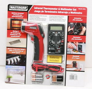 Mastergrip Tempgun Non contact Digital Infrared Ir Thermometer Multimeter