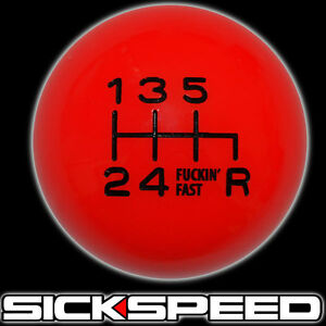 Red Black Fing Fast Shift Knob For 6 Rdr Speed Short Throw Shifter 10x1 5 K12