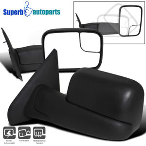 2002 2008 Dodge Ram 1500 Power Heat Towing Fold Out Mirrors 03 09 Ram 2500 3500