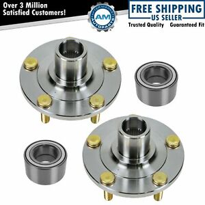 Front Wheel Hub Bearing Driver Passenger Side Kit Set For Mazda 3 Mazda3 New