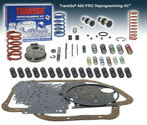 Gm Th 400 Th400 Transgo Reprogramming Shift Kit Stick Type Manual Sk 400 Pro
