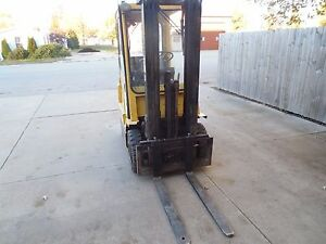2004 Hyster H35xm Pneumatic Air Tires Forklift Fork Lift Truck 3500
