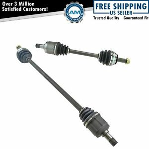 Front Cv Axle Shafts Pair Set For Honda Accord Acura Cl Automatic Transmission