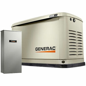 Generac Guardian trade 9kw Aluminum Standby Generator System 100a Ats W 16