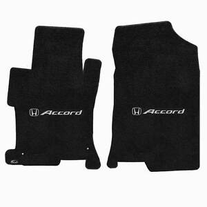 Lloyd Mats Ultimat 2 Pc Front Floor Mat Set Ebony 2008 2012 Honda Accord Sedan