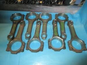 1970 1976 Chevy 400 Sbc Reconditioned 3 8 Large Journal Short Connecting Rods 8